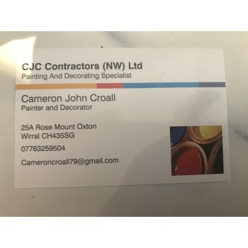 CJC painting contractors (NW)