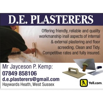 D.E.Plasterers and construction