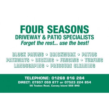 Four seasons driveway and patio specialist