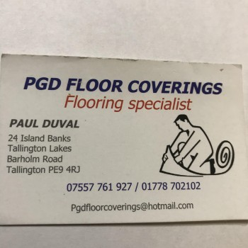 PGD Floorcoverings and Property maintenance