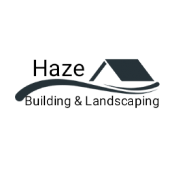 Haze building and landscaping