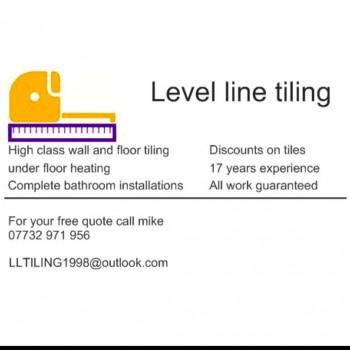 Level line tiling