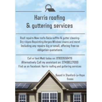 Harris Roofing & Guttering services