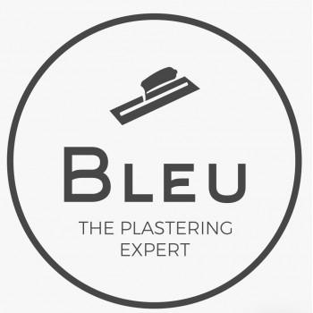 Bleu plastering
