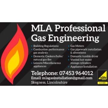 MLA professional gas engineering