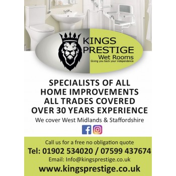 Kings prestige bathroom and home improvements