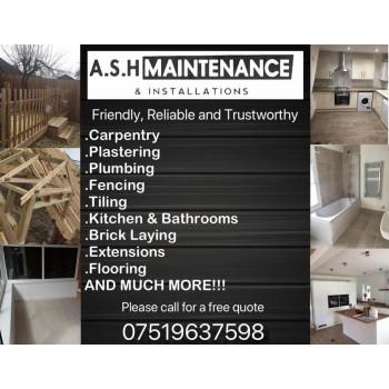 A.S.H Maintenance