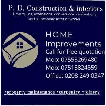 P.D. Construction & Interiors