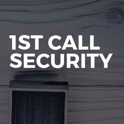 1st call security