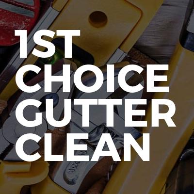 1st Choice Gutter Clean