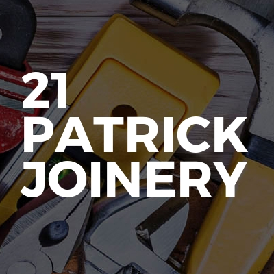 21 PATRICK JOINERY