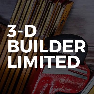 3-D builder limited