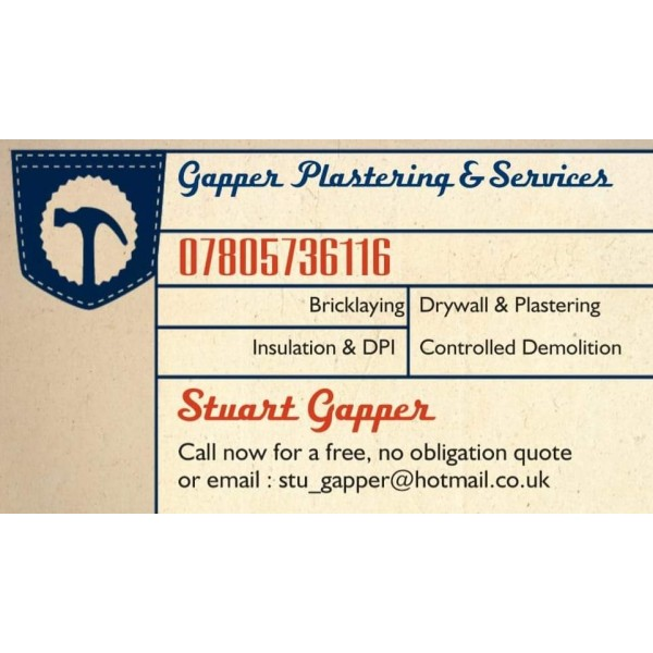 Gapper Plastering and Service's