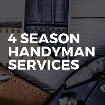 4 Season Handyman Services