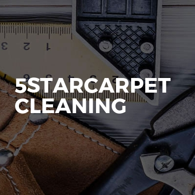 5starCarpet Cleaning