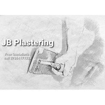 Jb plastering.