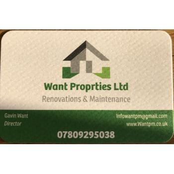 Want properties Ltd