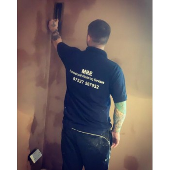 MRE Professional plastering services