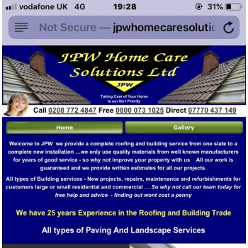 JPW homecare solutions Ltd