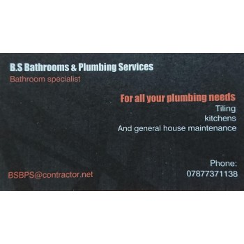 BS Bathrooms & Plumbing Services