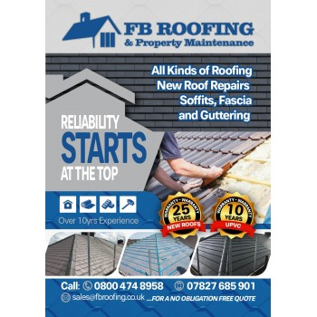 FB Roofing & property maintenance