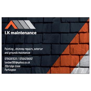 I.k Maintance