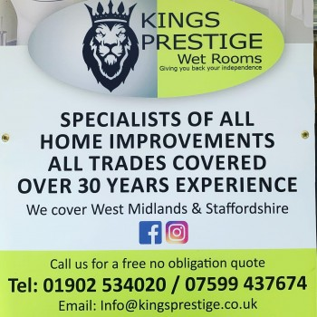 Kings Prestige Wet Room
