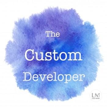 the custom developer