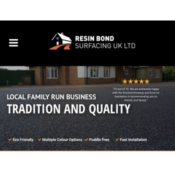Resinbond driveways