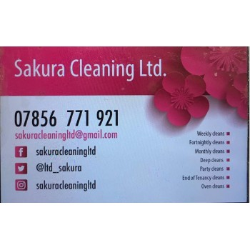Sakura Cleaning Ltd