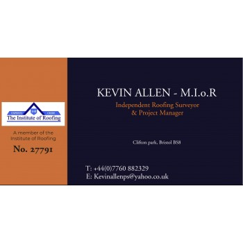 Kevin Allen M.I.o.R - Roofing Projects