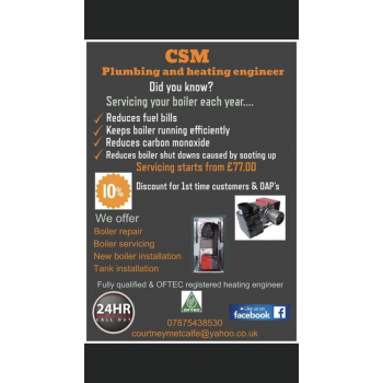 CSM Plumbing & heating engineer