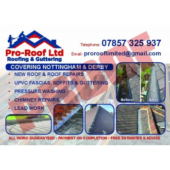 PRO-ROOF Roofing & guttering