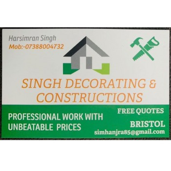 Singh Decorating & Constructions LTD