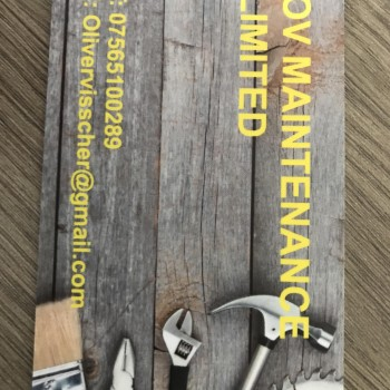 OV Maintenance Limited