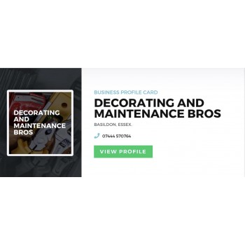 Decorating And Maintenance Bros