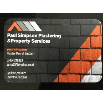 Paul Simpson Plastering And Property Services