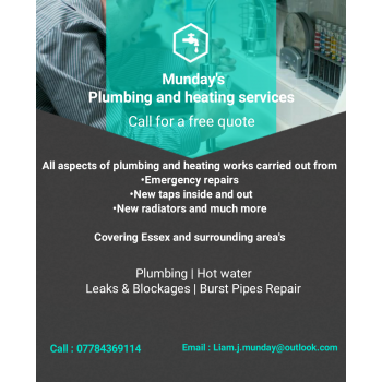 Mundays Plumbing And Heating Services