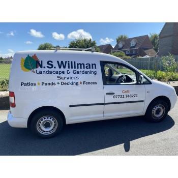 N.s Willman Landscape & gardening service