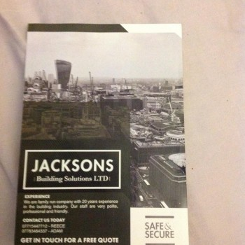 Jackson Building Solutions Ltd