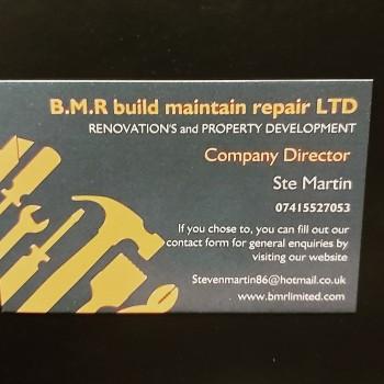 B.M.R Build Maintain Repair Ltd