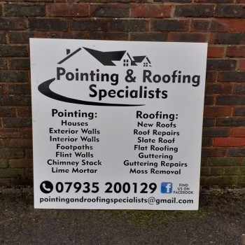 Pointing &roofing Specialists