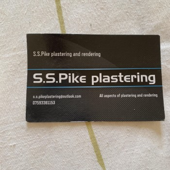 S.S.PIKE PLASTERING