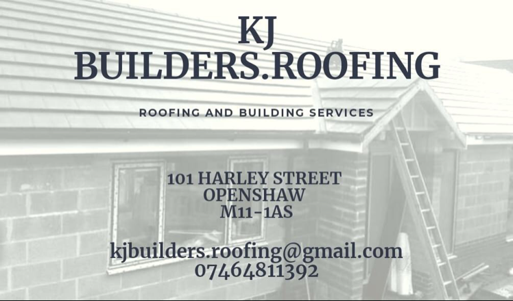 KJ Builders.Roofing