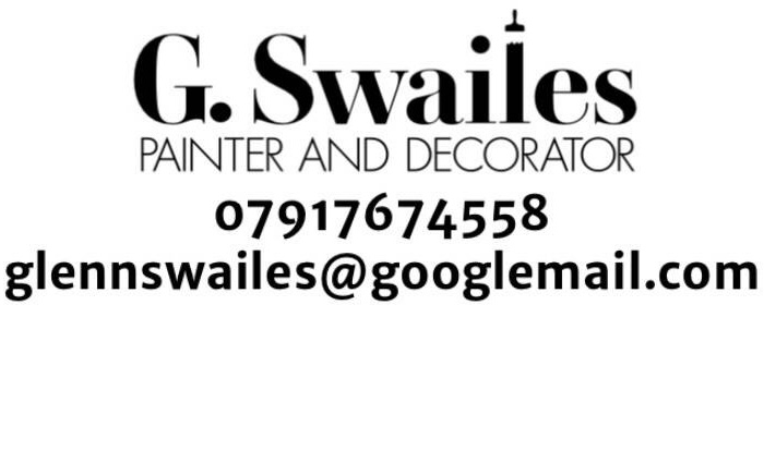 G.Swailes Painter & Decorator