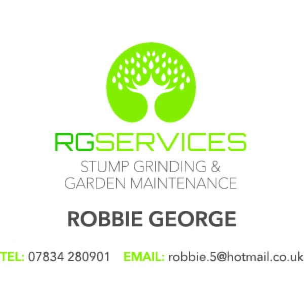 RG Services stump grinding and garden maintenance