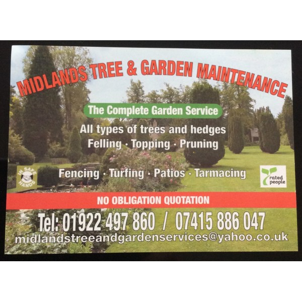 Midlands Tree And Garden Services