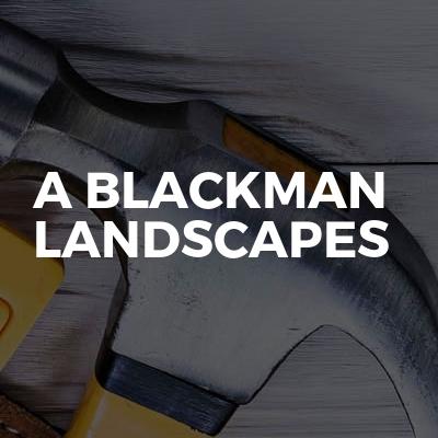A blackman landscapes