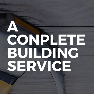 A Conplete Building Service