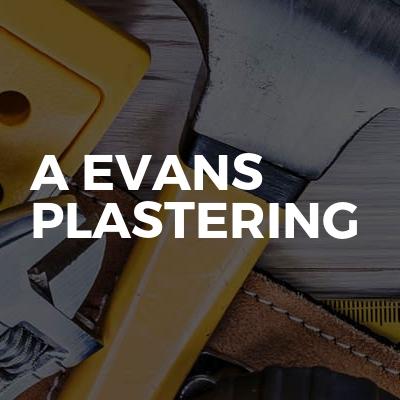 A Evans Plastering